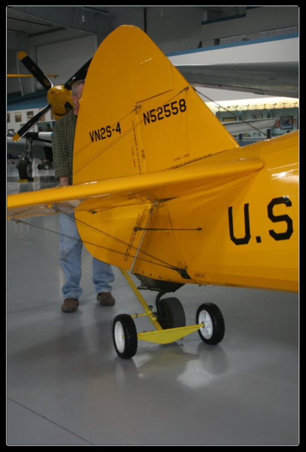 Baby Busch PICKER-2A with a Stearman