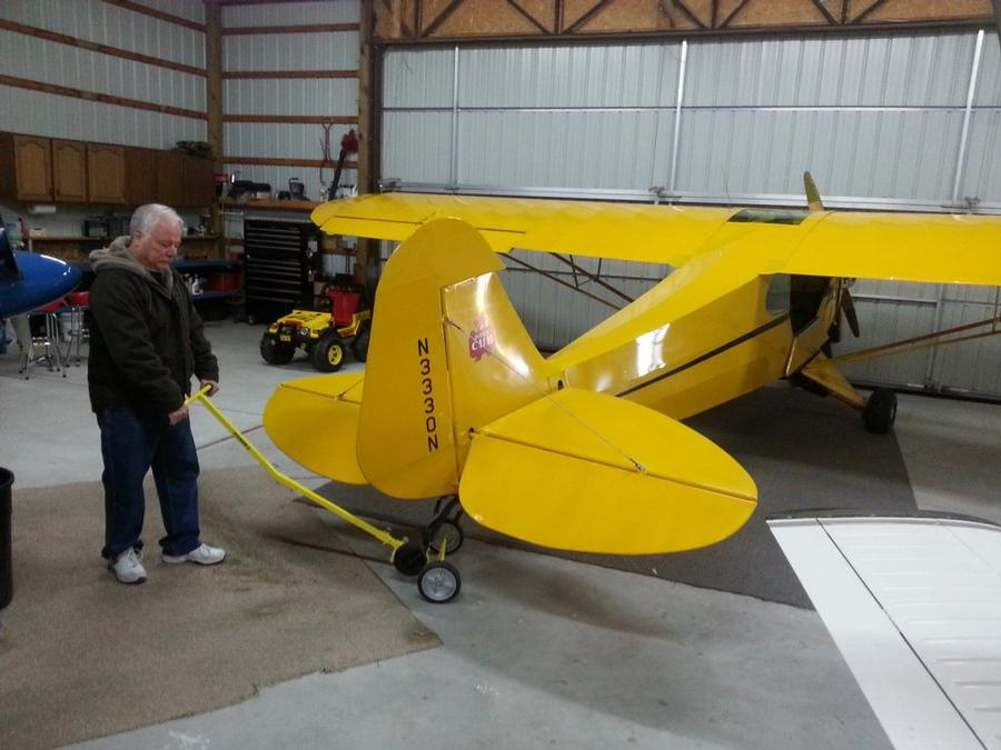 46 J3-Cub with a Tail-PICKER-2 and a Claw