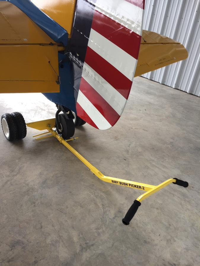 BABY BUSH PICKER-2B with a Stearman