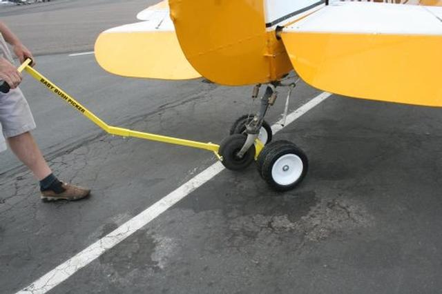 Baby Bush PICKER-1B Tail Wheel Towbar