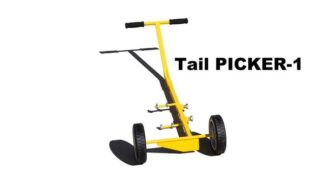 Tail PICKER-1, Standard Tailwheel Aircraft Tow Bar