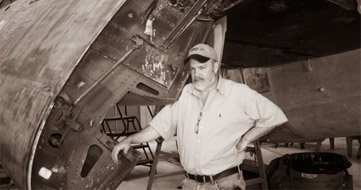 Jeff Irwin, owner of Aircraft Tugs